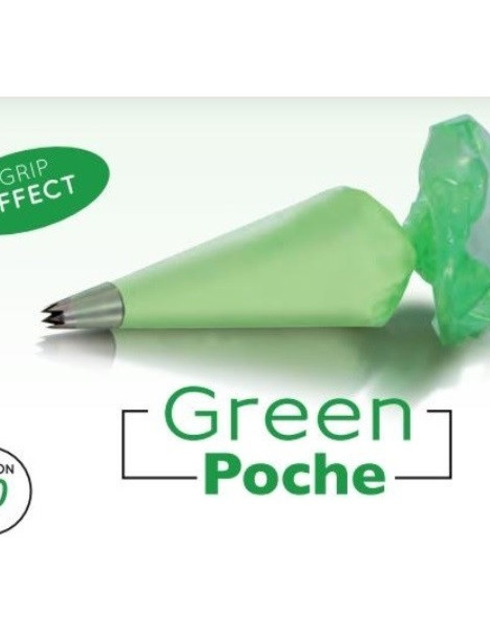 Martellato Martellato Wegwerp Spuitzak 30 cm Groen 100 stuks