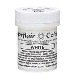 Sugarflair Sugarflair Chocolate Colour White 35g