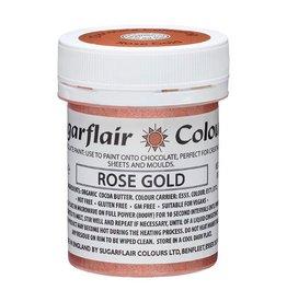Sugarflair Sugarflair Chocolate Paint Rose Gold 35g