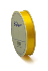 Double Satin Ribbon 15mm x 25mtr Yellow op Grote Rol