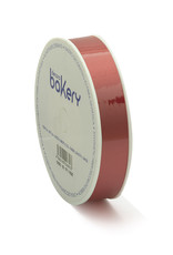Double Satin Ribbon 15mm x 25mtr Warm Red op Grote Rol