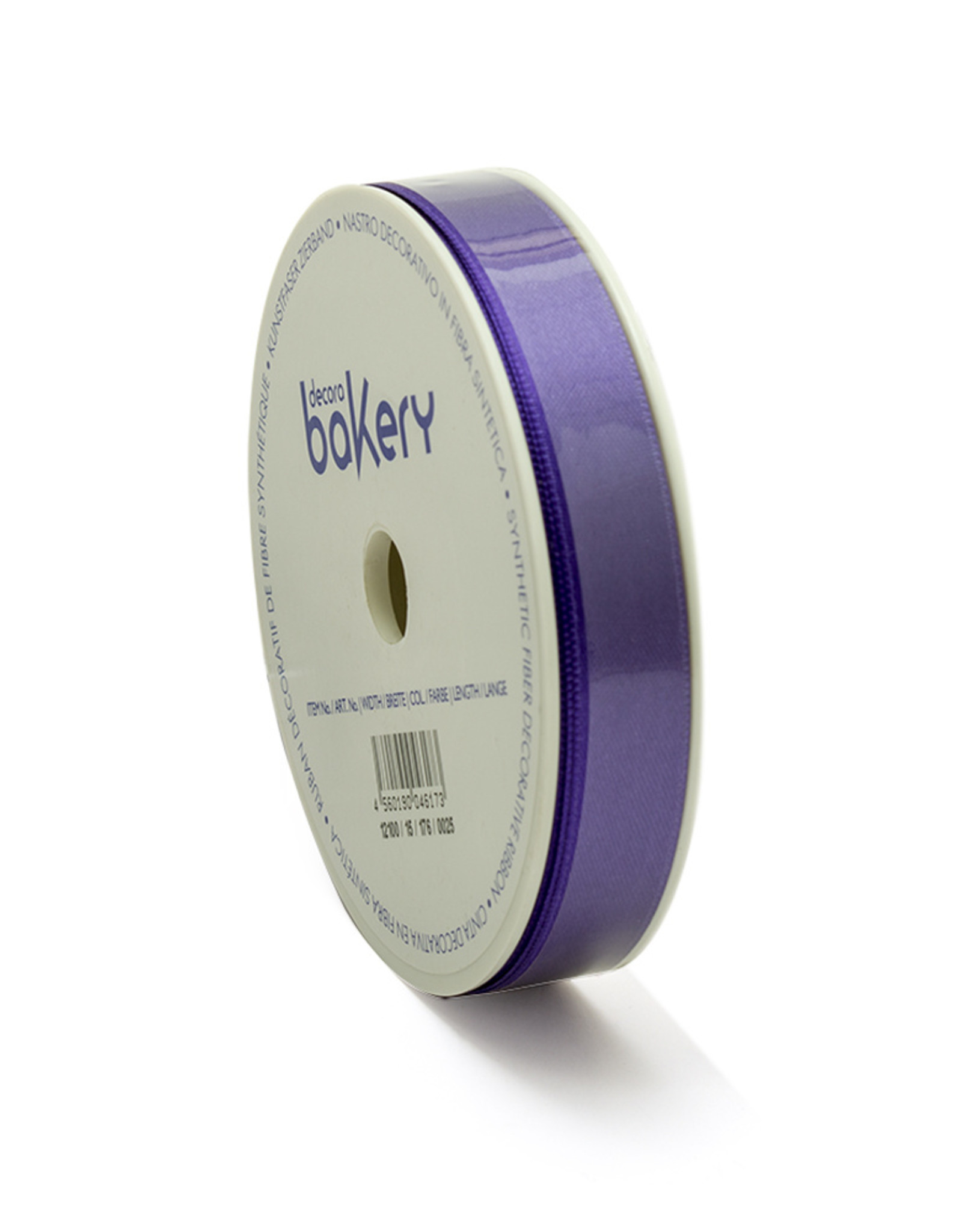 Double Satin Ribbon 15mm x 25mtr Bright Violet op Grote Rol