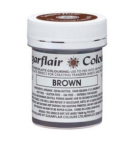 Sugarflair Sugarflair Chocolate Colour Brown 35g