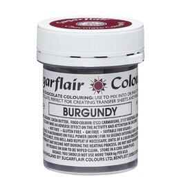 Sugarflair Sugarflair Chocolate Colour Burgundy 35g