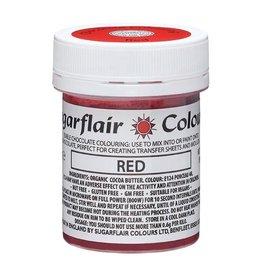 Sugarflair Sugarflair Chocolate Colour Red 35g