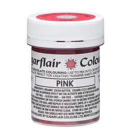 Sugarflair Sugarflair Chocolate Colour Pink 35g