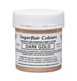 Sugarflair Sugarflair Pump Refill -Dark Gold-25g