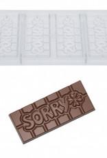 Chocolate World Chocolate World Chocolademal Tablet Sorry