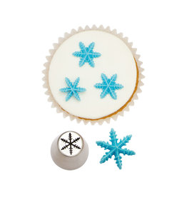 Decora Decora Piping Nozzle Frozen Star 3D