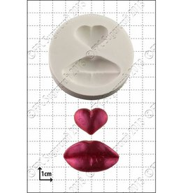 FPC FPC Lips & Heart Silicone Mould