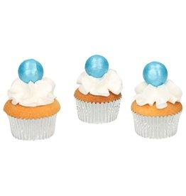 FunCakes Chocoballetjes Blauw Set/8
