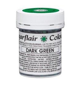 Sugarflair Sugarflair Chocolate Colour Dark Green 35g