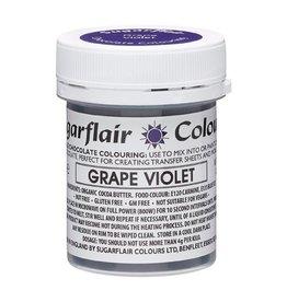 Sugarflair Sugarflair Chocolate Colour Grape Violet 35g