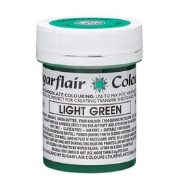 Sugarflair Sugarflair Chocolate Colour Light Green 35g