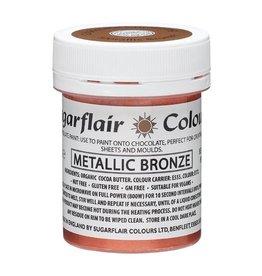 Sugarflair Sugarflair Chocolate Paint Metallic Bronze 35g
