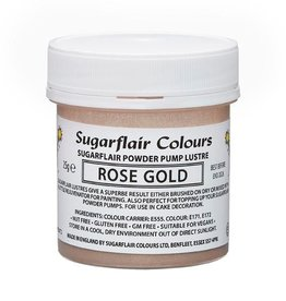 Sugarflair Sugarflair Pump Refill -Rose Gold-25g