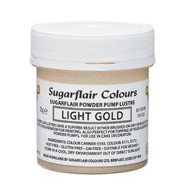 Sugarflair Sugarflair Pump Refill -Light Gold-25g