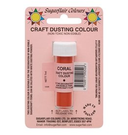 Sugarflair Sugarflair Craft Dusting Colour Coral 7g
