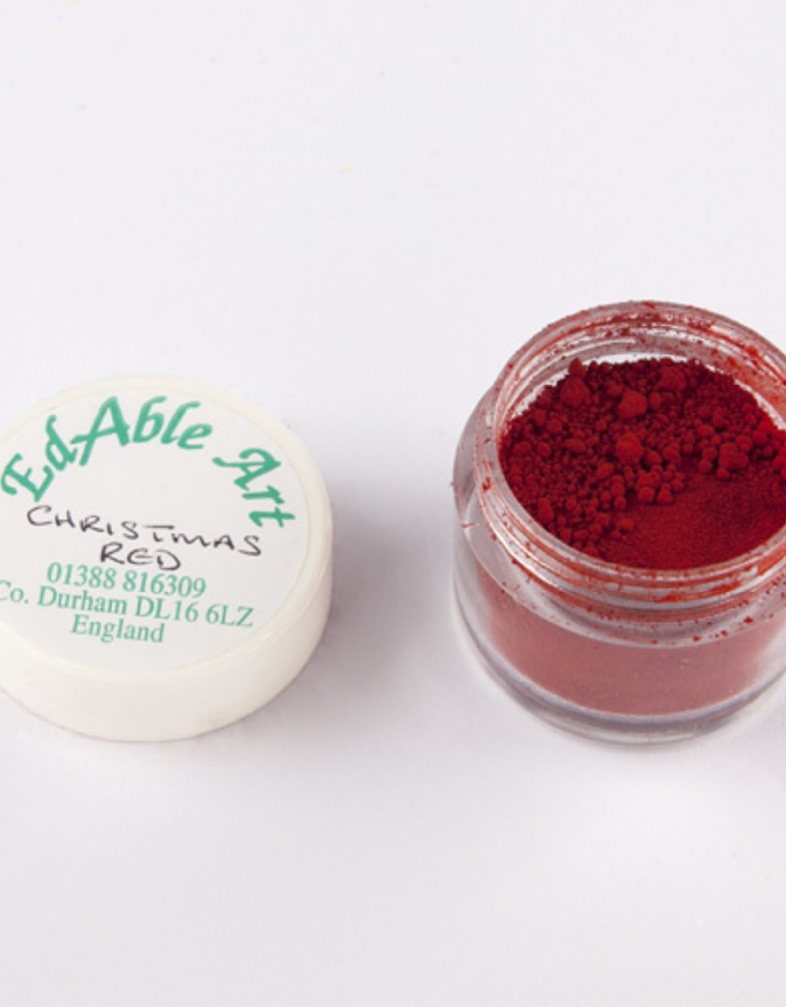 EdAble Art EdAble Art Powdered Colours  Christmas Red