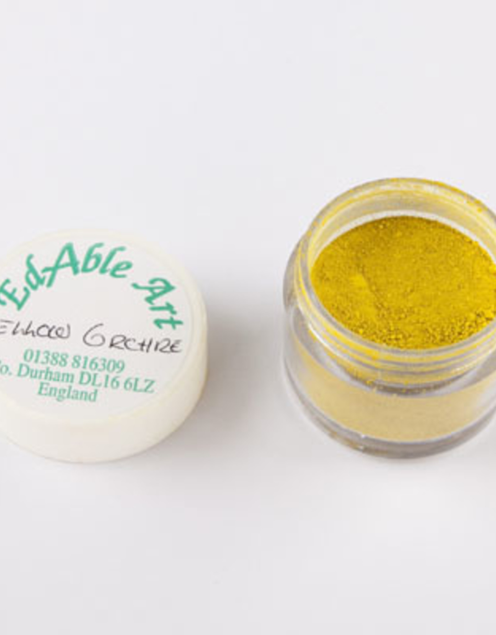 EdAble Art EdAble Art Powdered Colours  Yellow Orchro
