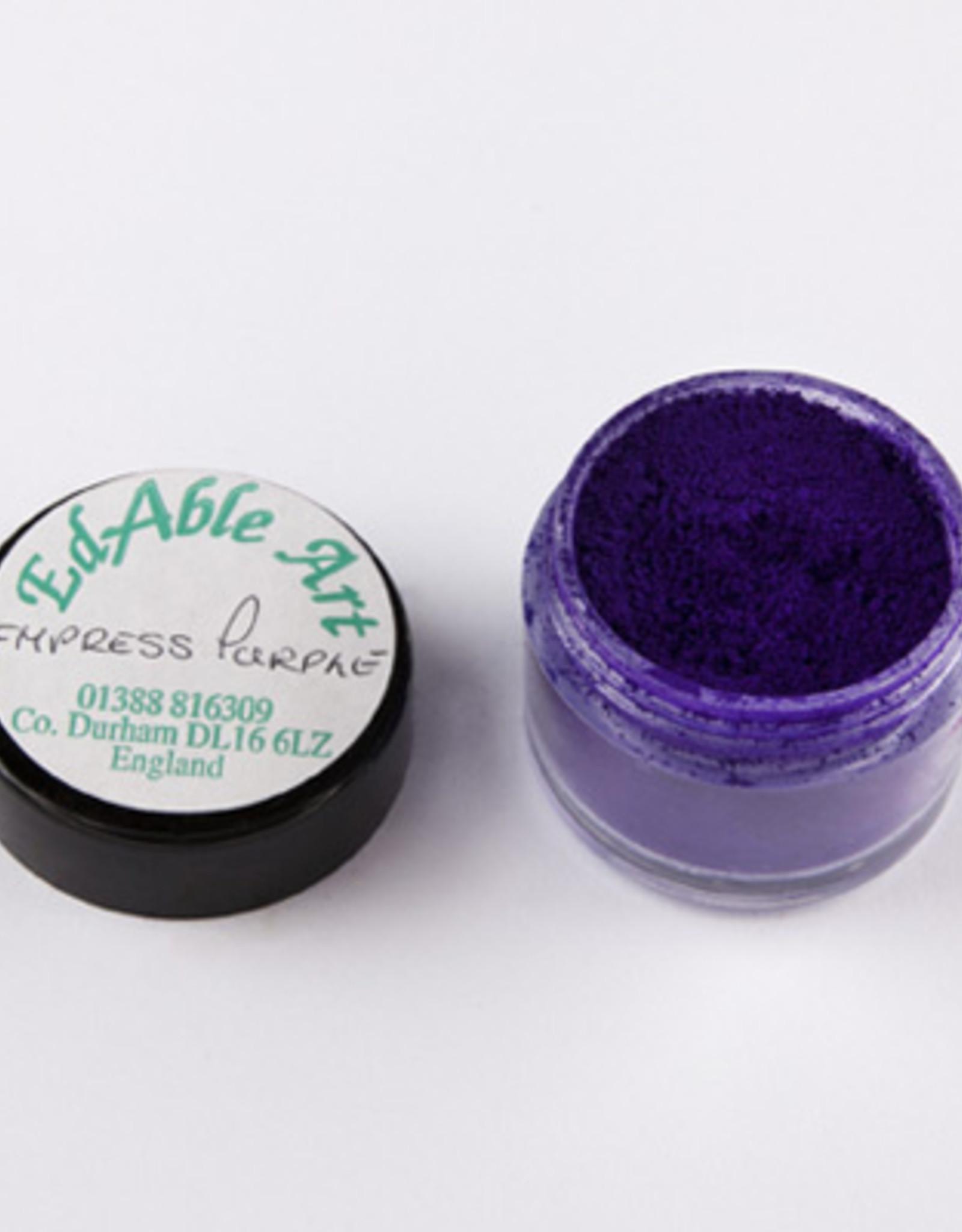 EdAble Art EdAble Art Black Top  Empress Purple