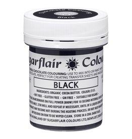Sugarflair Sugarflair Chocolate Colour Black 35g