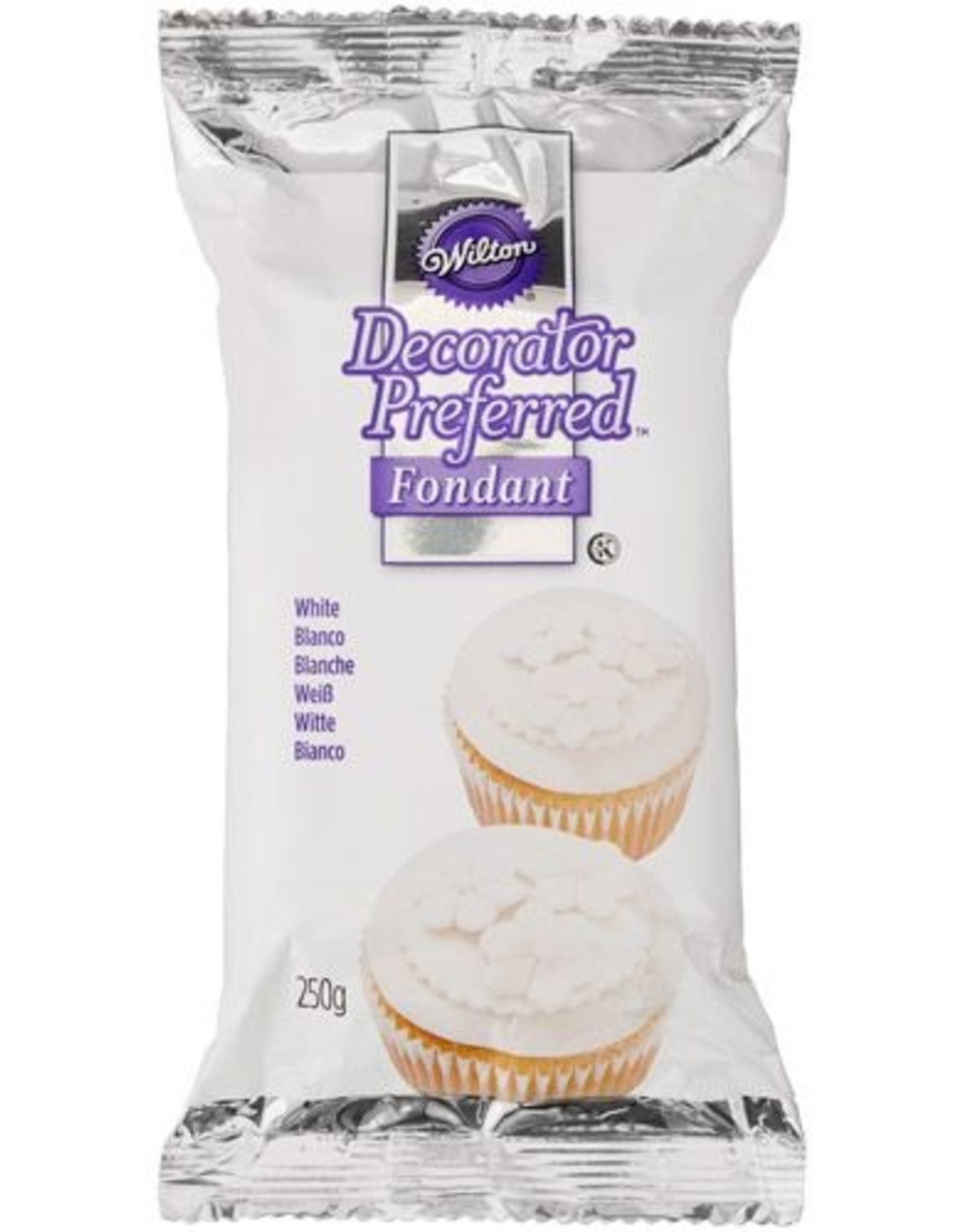 Wilton Wilton Decorator Preferred Fondant White -250g-