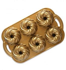 Nordic Ware Nordic Ware Swirl Mini Tulband Bakvorm