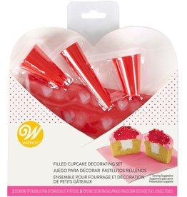 Wilton Wilton Cupcake Decorating Valentine Set/7