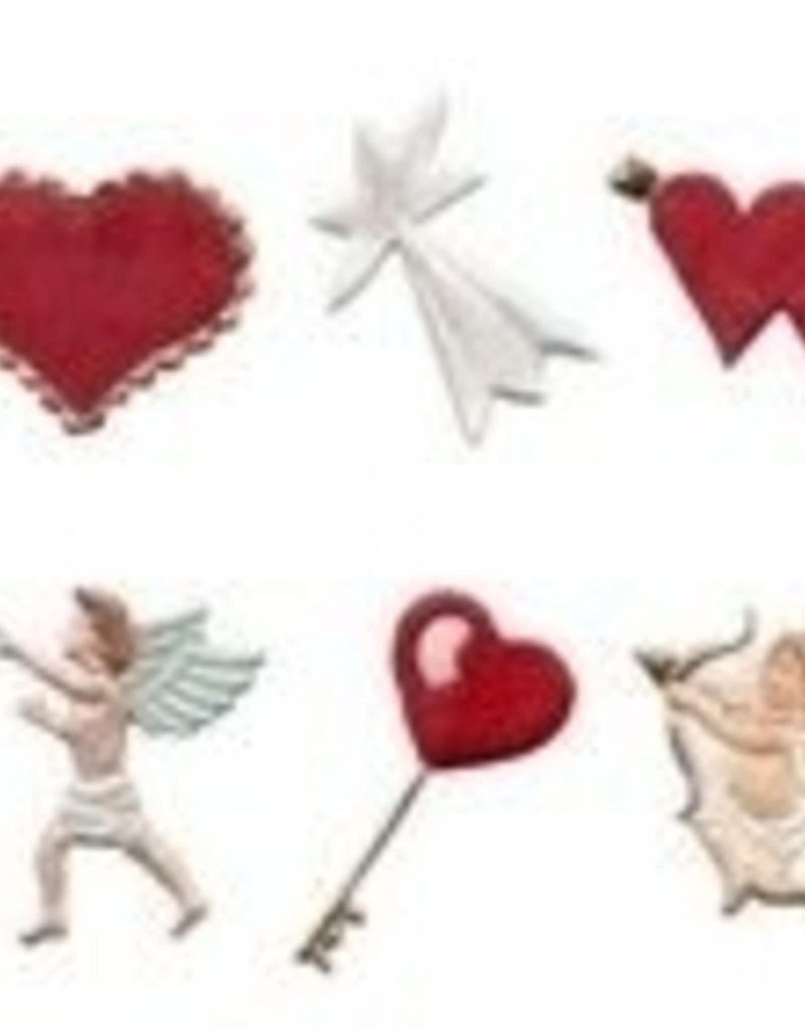 FMM FMM Hearts & Cherubs Tappits