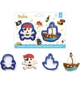 Decora Decora Uitstekerset Pirates/4