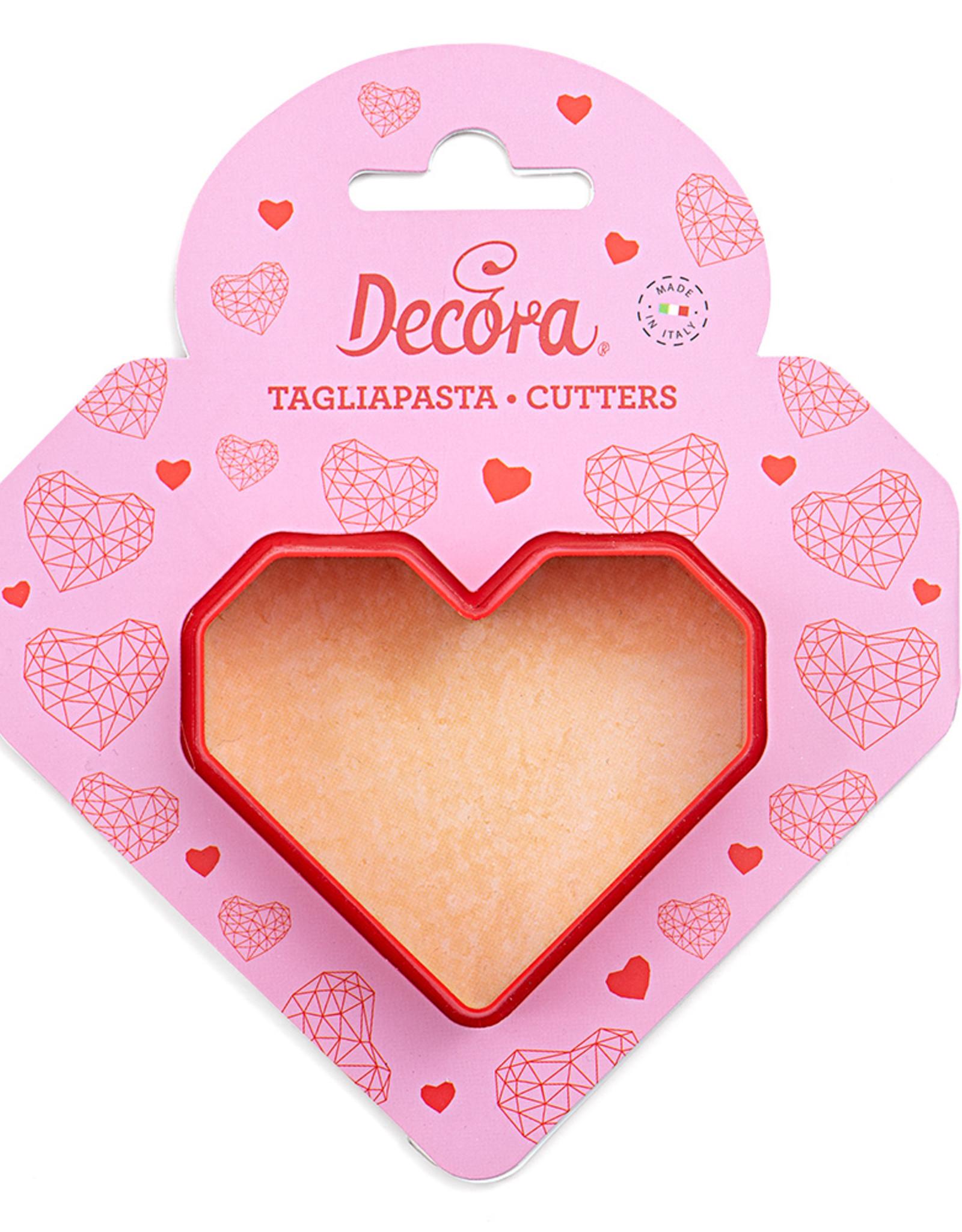 Decora Decora Uitsteker Geometrisch Hart