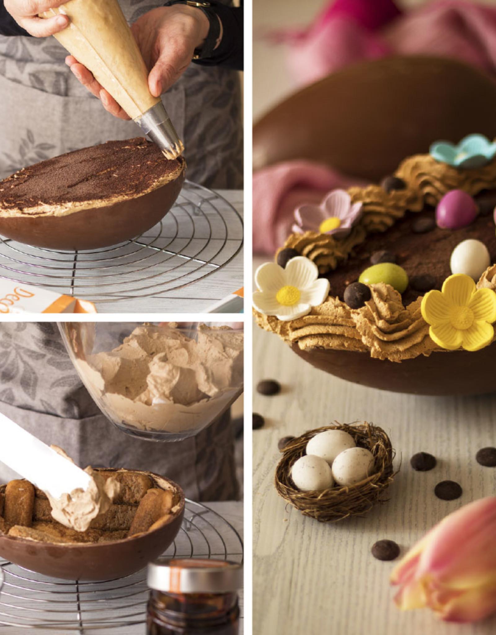 Decora Decora Chocolate Mould Eivorm 500g