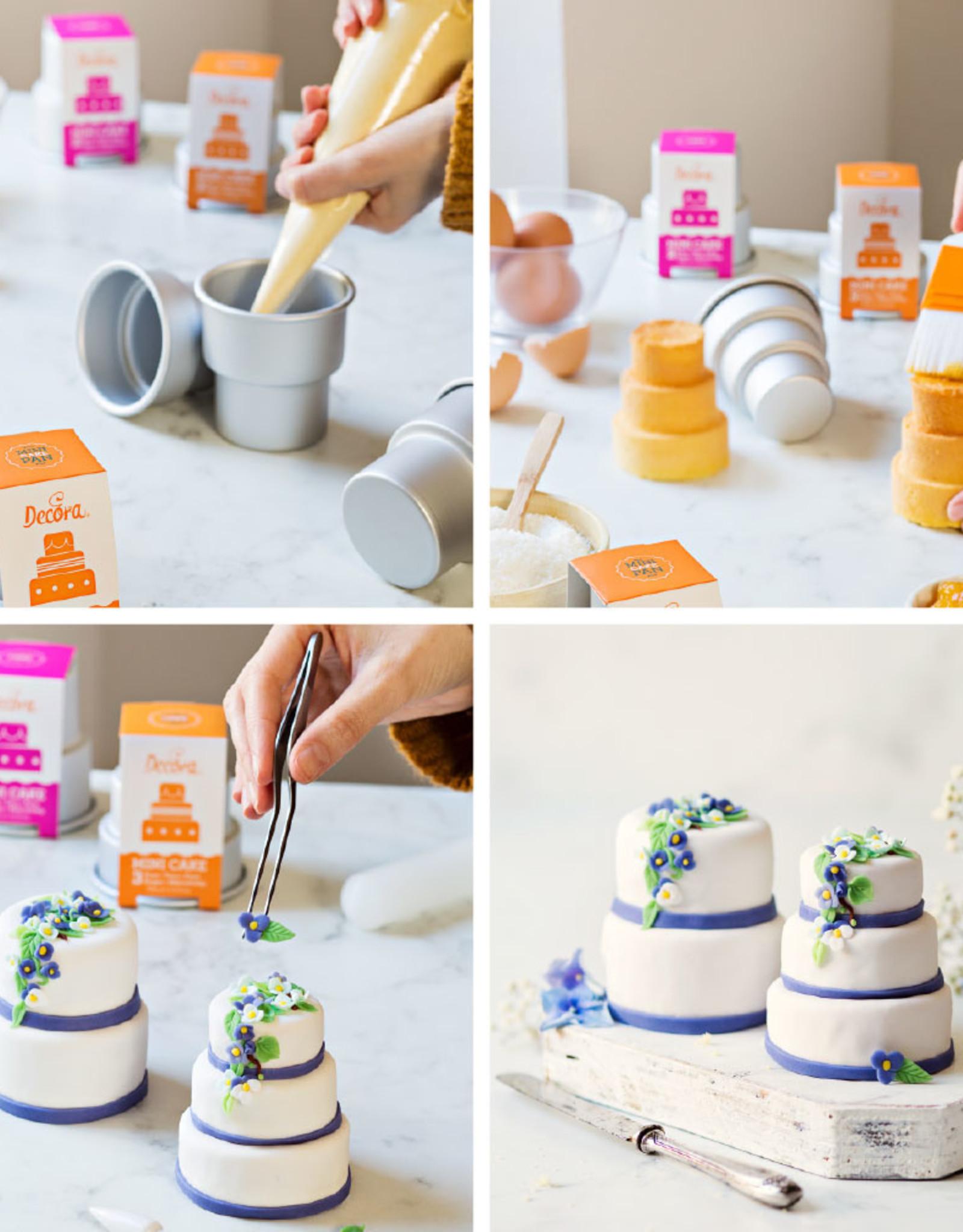 Decora Decora Mini Wedding Cake 3-laags