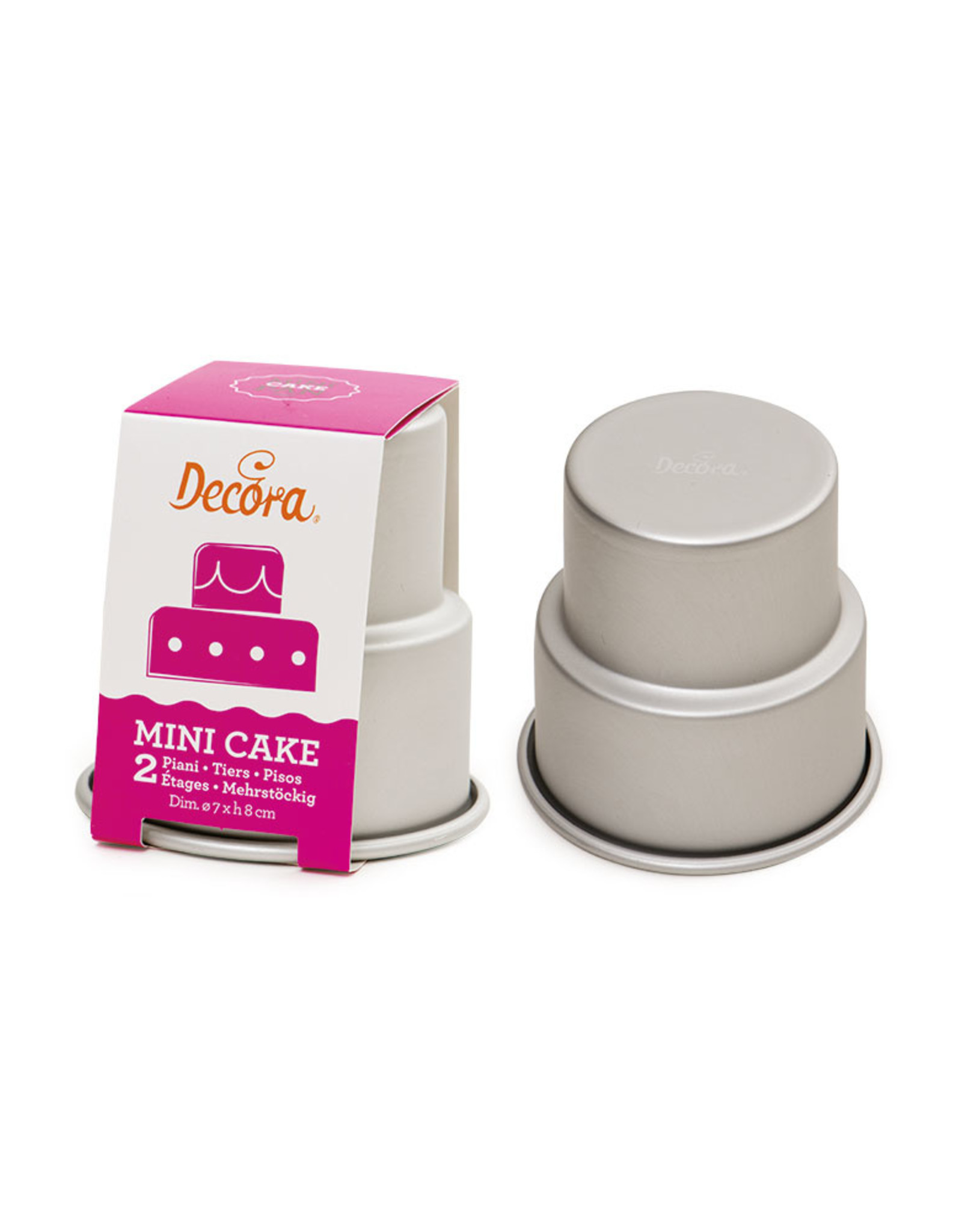 Decora Decora Mini Wedding Cake 2-laags