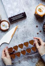 Decora Decora Chocolate Mould Hartvorm/10