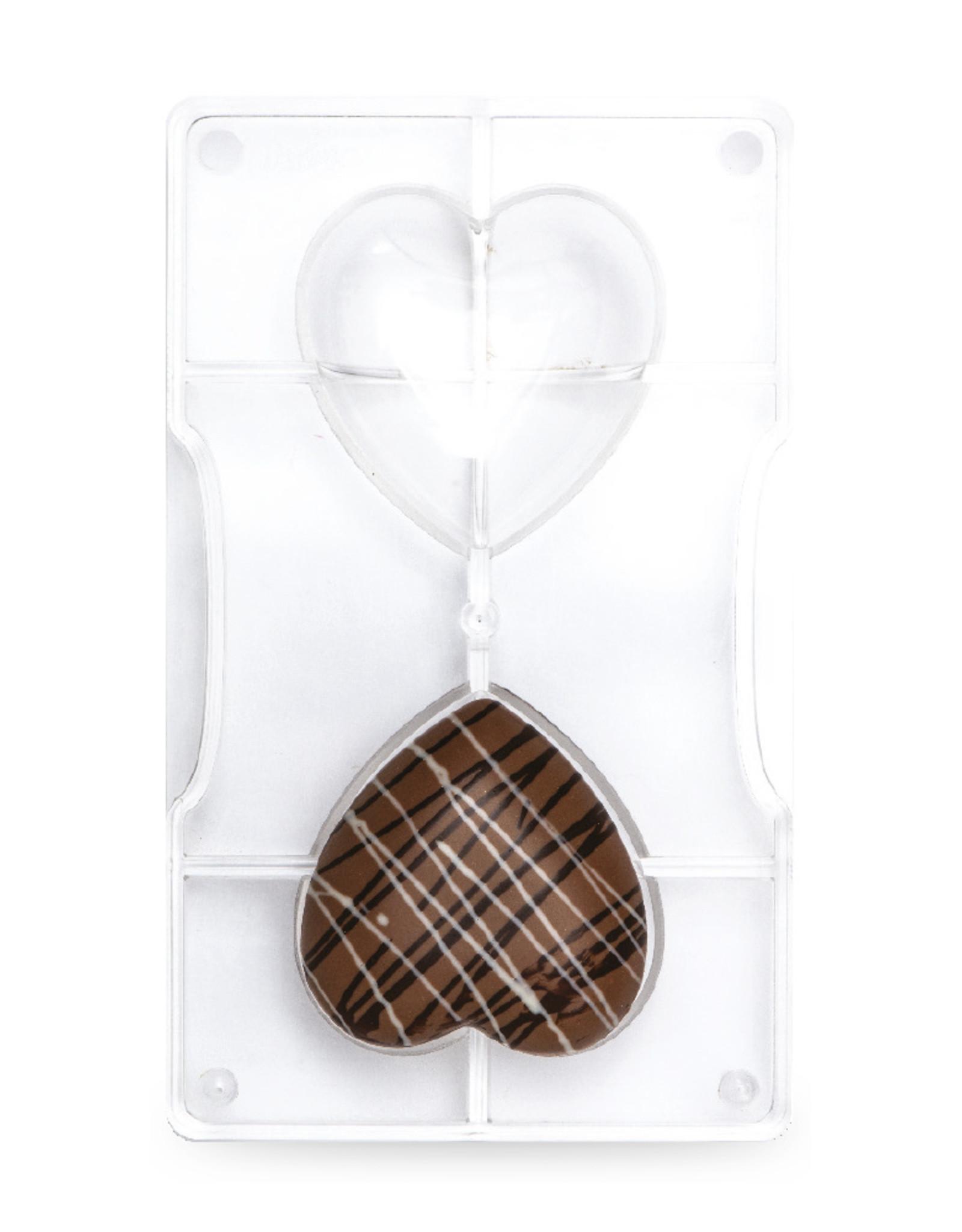 Decora Decora Chocolate Mould Hartvorm/2