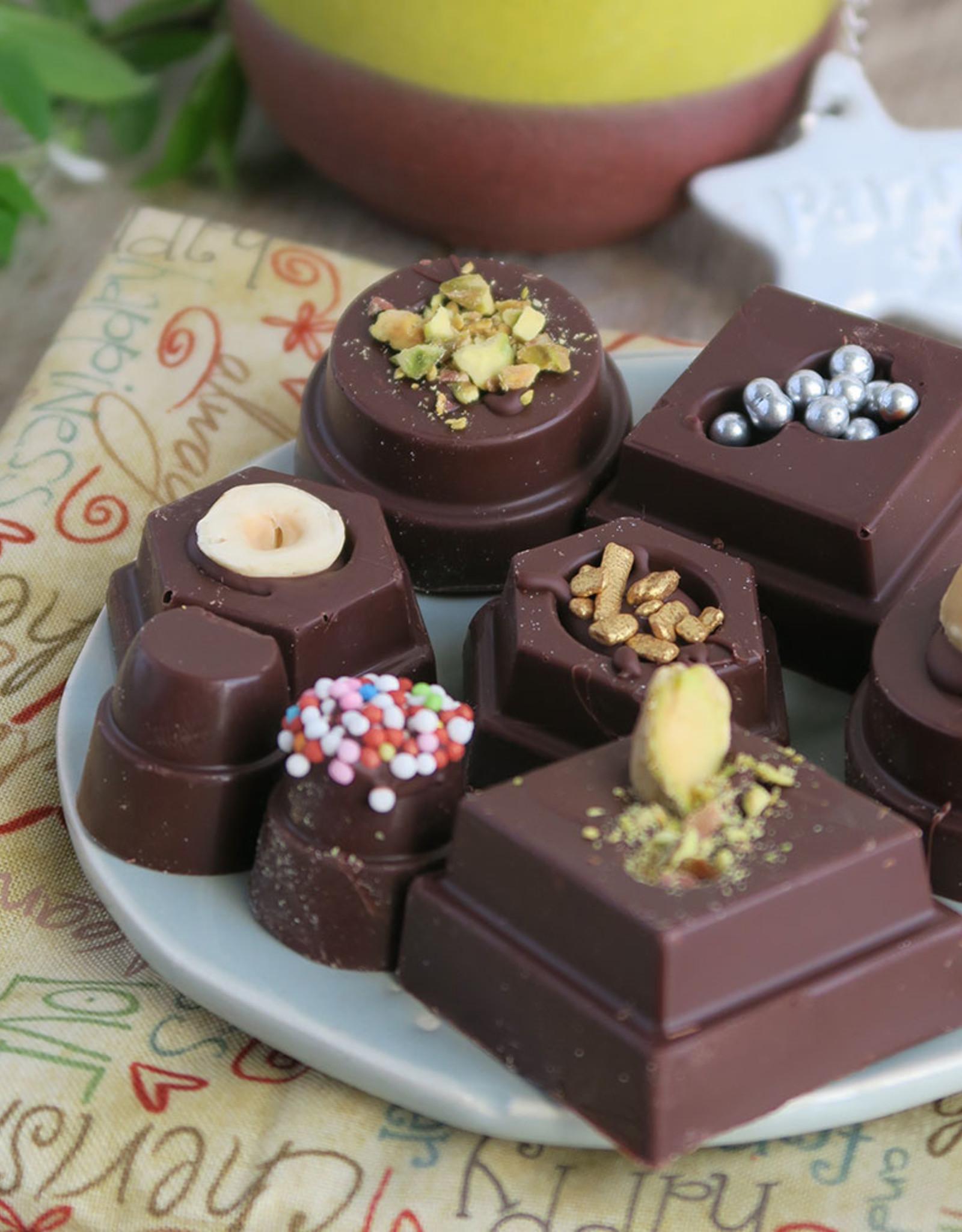 Decora Decora Chocolate Mould Geometrie