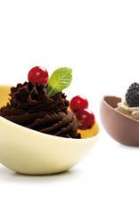 Decora Decora Chocolate Mould Halve Bol met voet