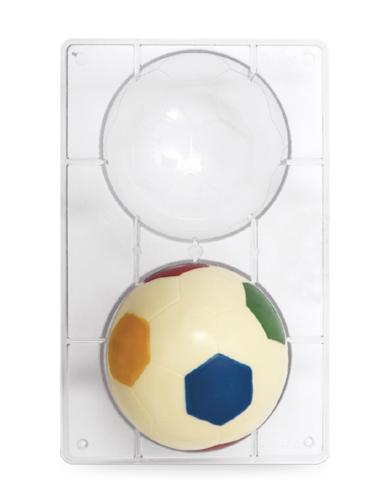 Decora Decora Chocolate Mould Voetbal /2 Ø 12cm