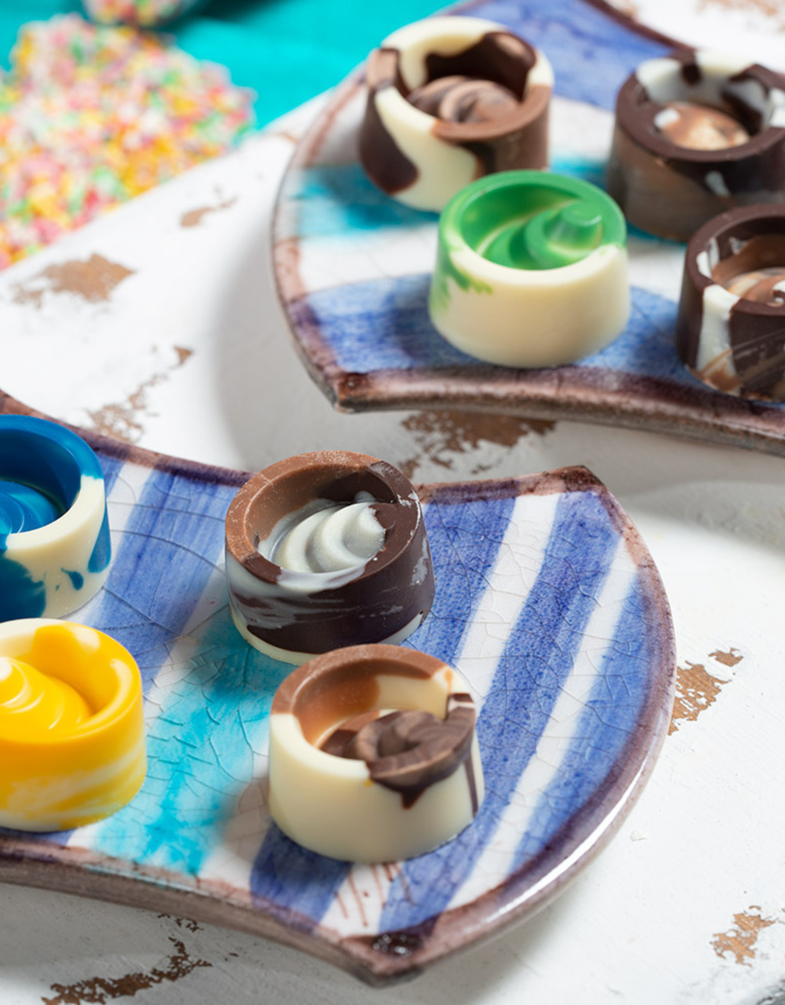 Decora Decora Chocolate Mould Scalar Rond/10