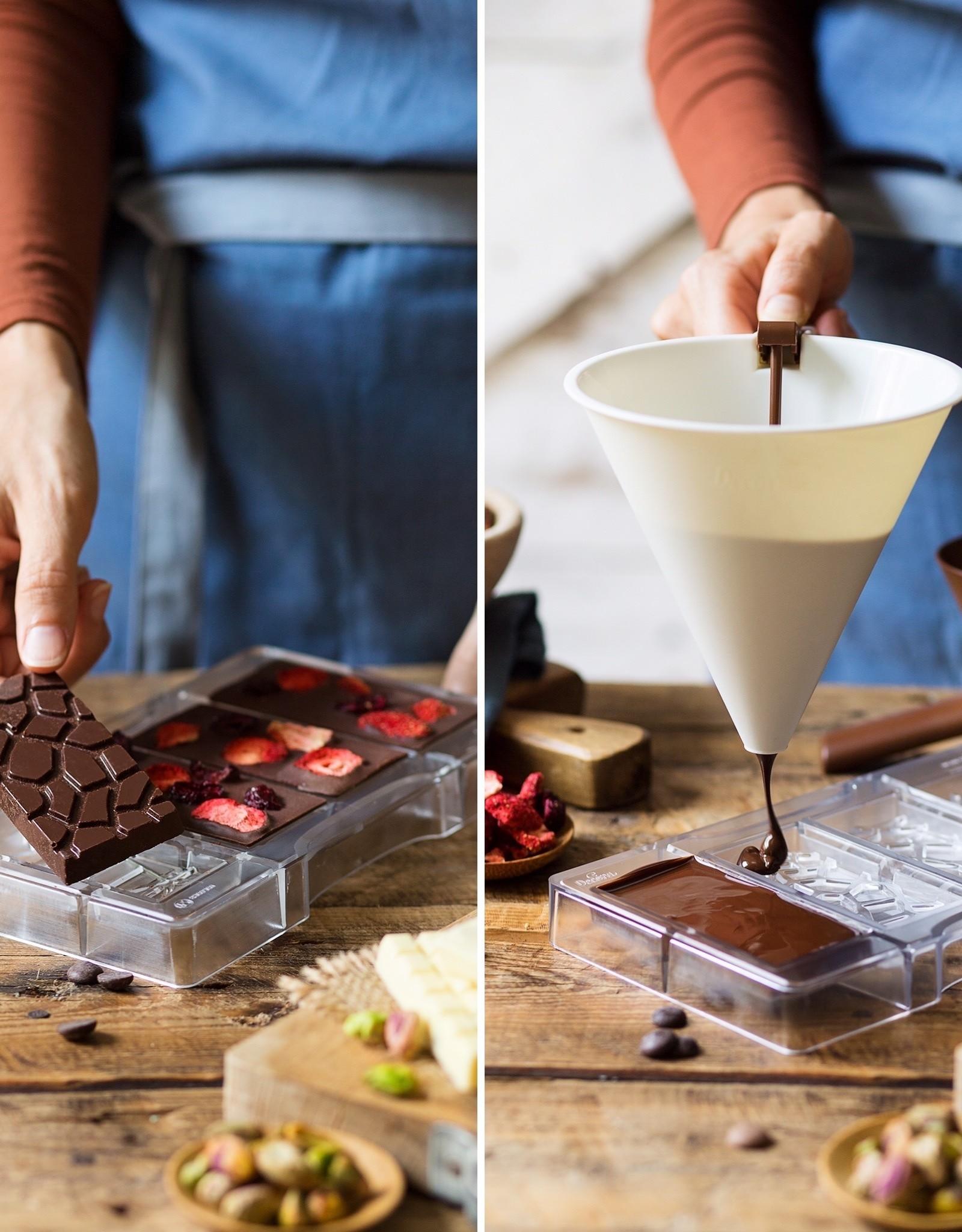 Decora Decora Chocolate Mould Tablet Schildpad/4