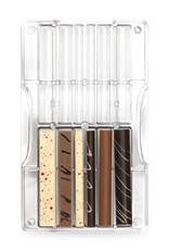 Decora Decora Chocolate Mould Stokjes en Rollen