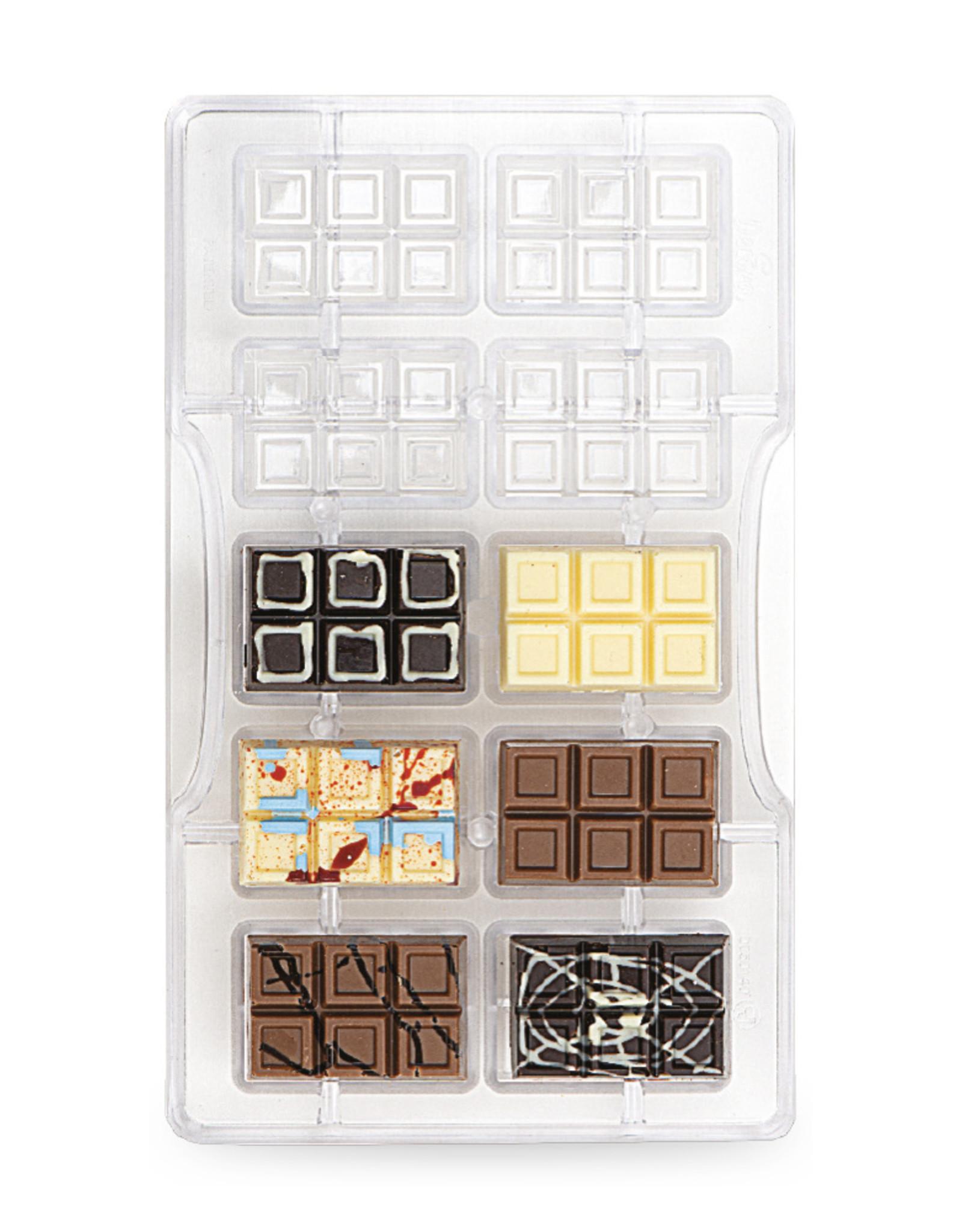 Decora Decora Chocolate Mould Tablet Klein/10