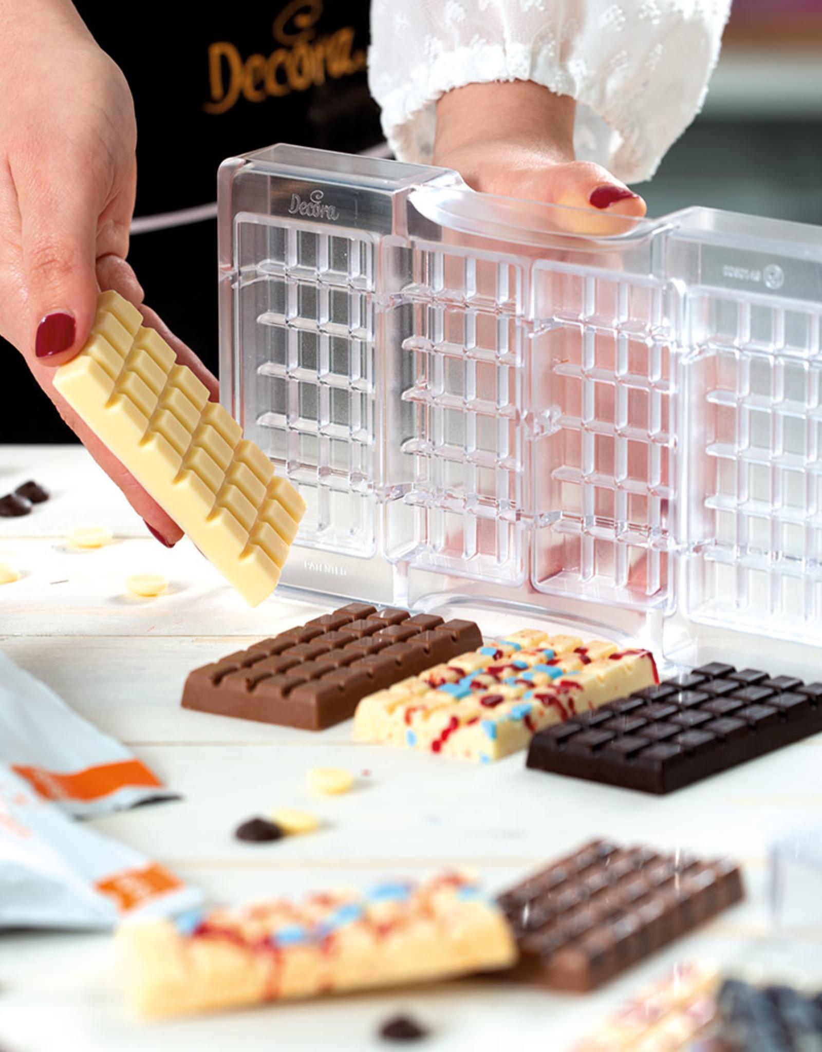Decora Decora Chocolate Mould Tablet Klassiek/4