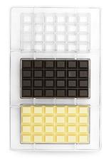 Decora Decora Chocolate Mould Klassiek Tablet/3