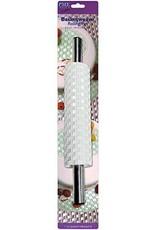 PME PME Basketweave Deep Impression Rolling Pin 25cm