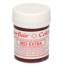 Sugarflair Sugarflair - Max Concentrate Paste Colour RED EXTRA 42g