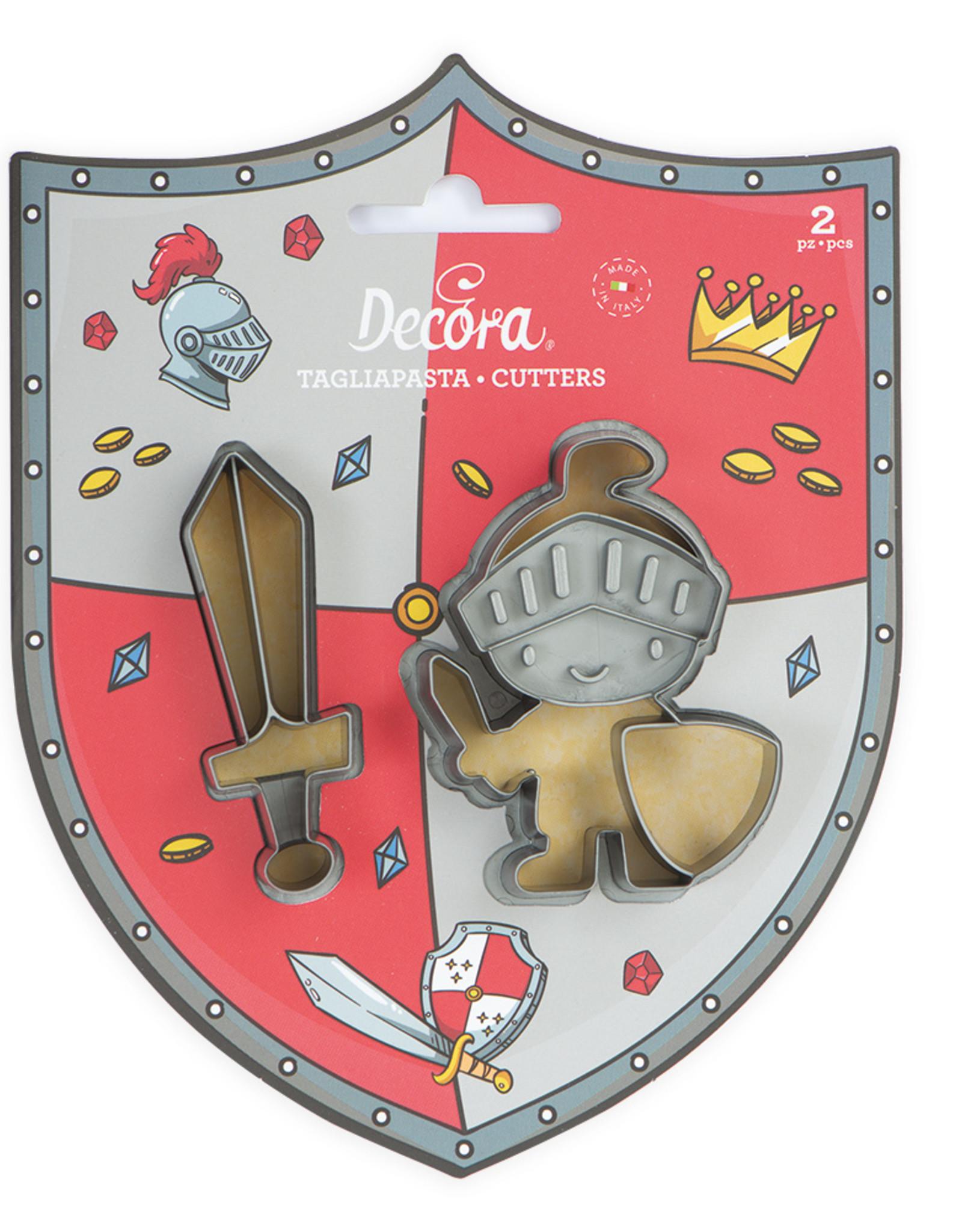Decora Decora Uitstekerset Ridder en Zwaard/2