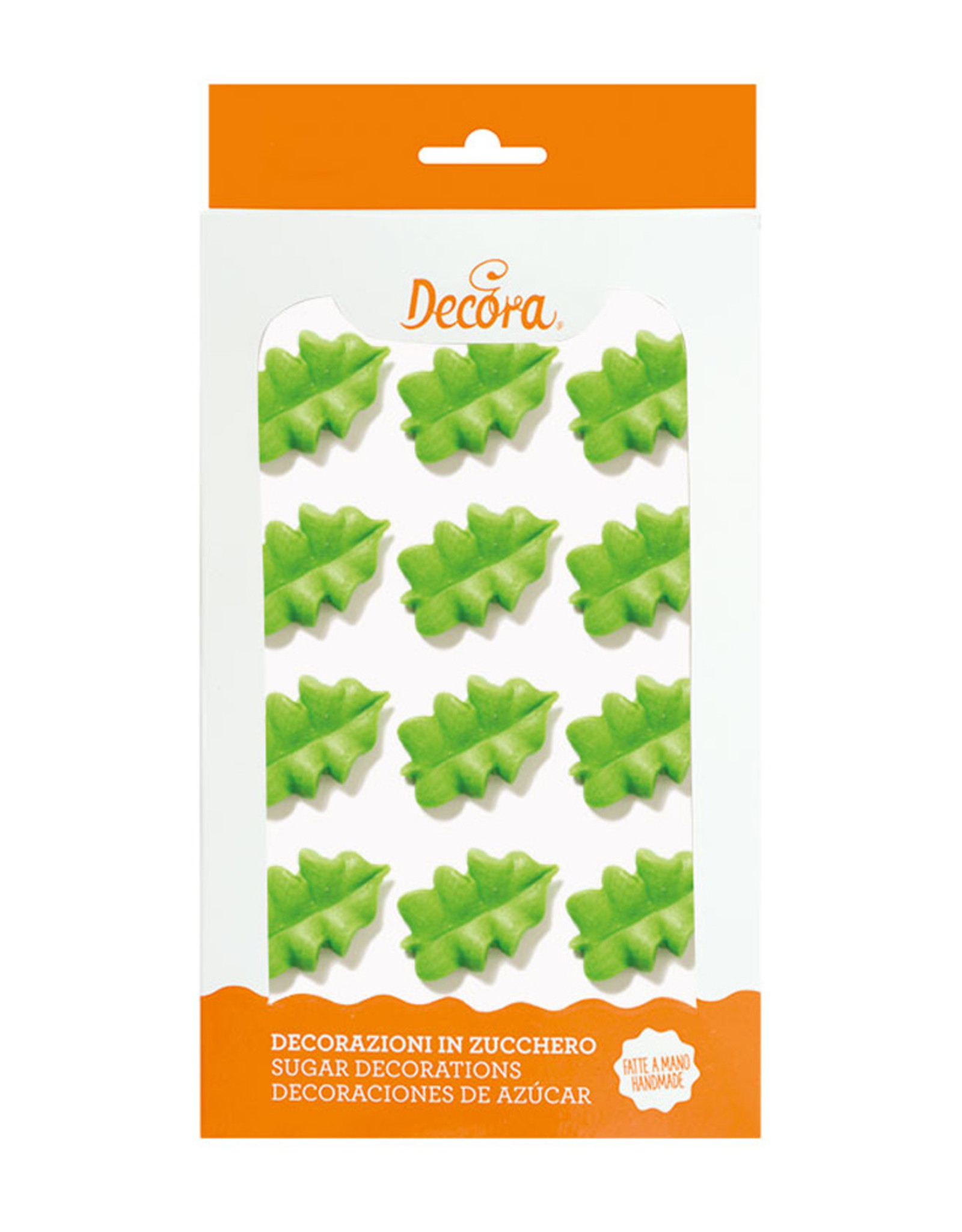 Decora Decora Suikerdecoratie Groen Blad